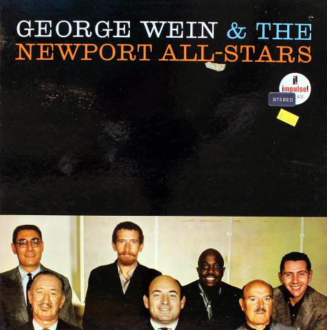 "George Wein & The Newport All-Stars Vinyl 12"""