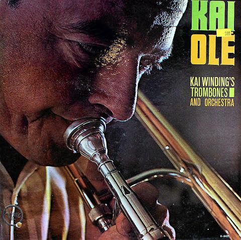 "Kai Winding's Trombones And Orchestra Vinyl 12"""