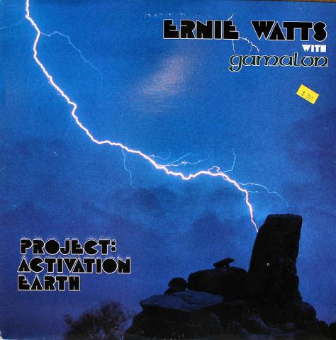 """Ernie Watts With Gamalon Vinyl 12"""""""