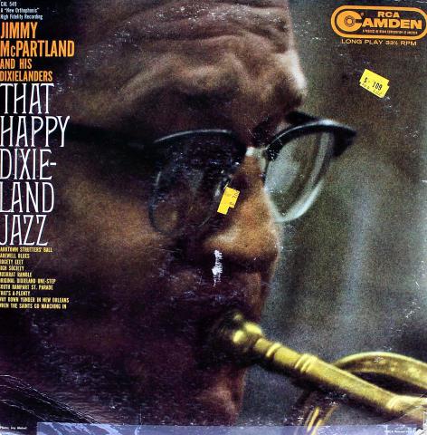 "Jimmy McPartland And His Dixielanders Vinyl 12"""