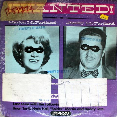 "Marian McPartland Vinyl 12"""