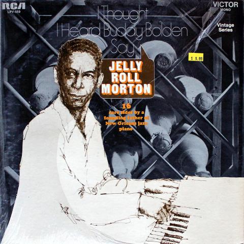 "Jelly Roll Morton Vinyl 12"""