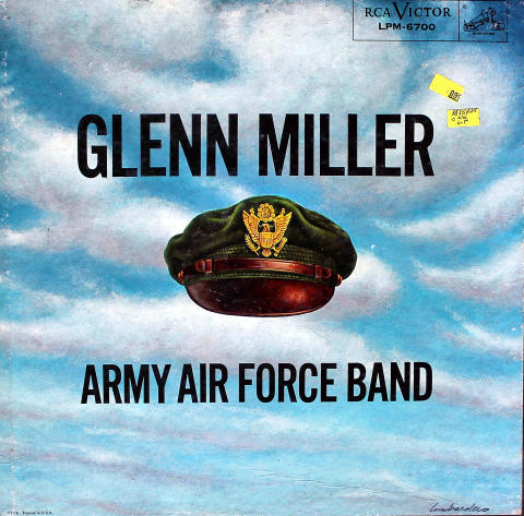 "Glenn Miller Army Air Force Band Vinyl 12"""