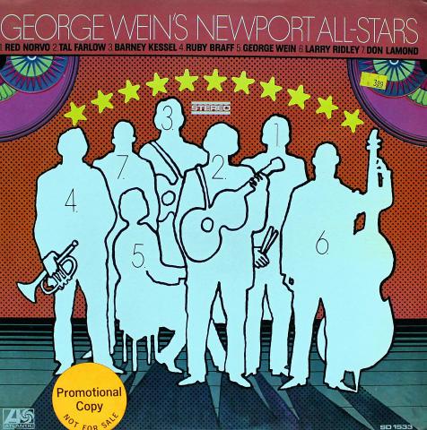 "George Wein's Newport All-Stars Vinyl 12"""