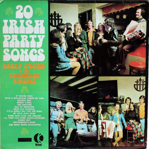 "Barry O'Dowd & The Shamrock Singers Vinyl 12"""