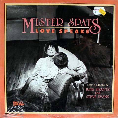 """Mister Spats: Love Speaks Vinyl 12"""""""
