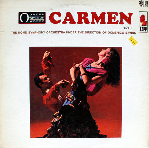 "Carmen Vinyl 12"""