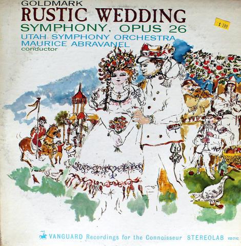 "Rustic Wedding: Symphony, Opus 26 Vinyl 12"""