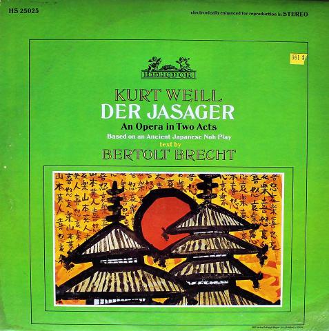 "Der Jasager Vinyl 12"""