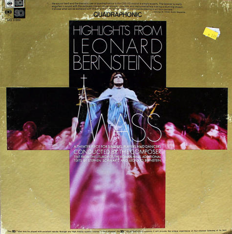"Highlights From Leonard Bernstein's Mass Vinyl 12"""