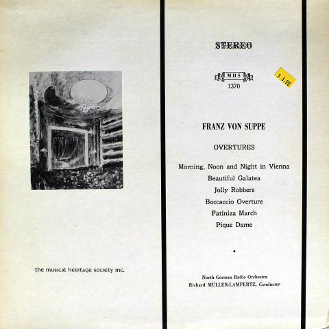 """Franz Von Suppe Vinyl 12"""""""