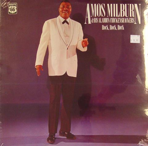 "Amos Milburn & His Aladdin Chickenshackers Vinyl 12"""