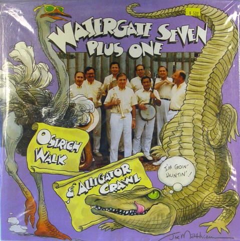 "Watergate Seven Plus One Vinyl 12"""