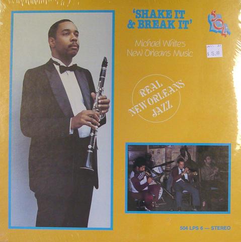 """Michael White's New Orleans Music Vinyl 12"""""""