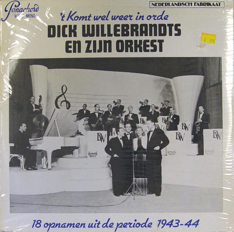 """Dick Willebrandts En Zijn Orkest Vinyl 12"""""""