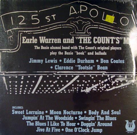 """Earle Warren And Count's Men Vinyl 12"""""""