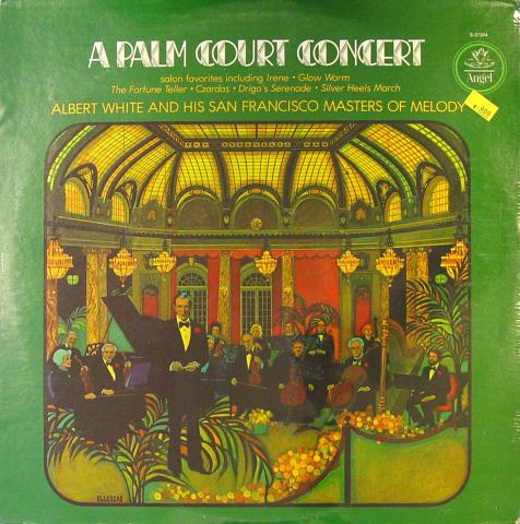 "Albert White And His San Francisco Masters Of Melody Vinyl 12"""