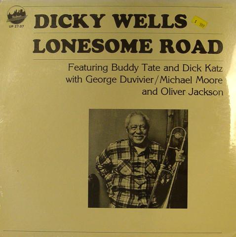 "Dicky Wells Vinyl 12"""