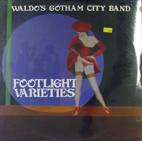 """Waldo's Gotham City Band Vinyl 12"""""""