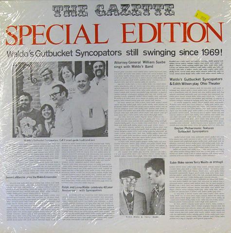 "Terry Waldo Vinyl 12"""