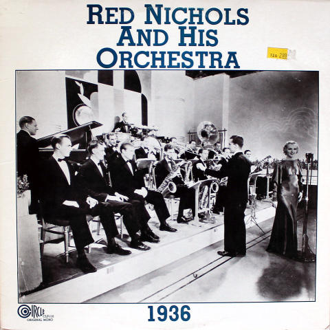 "Red Nichols And His Orchestra Vinyl 12"" (New)"