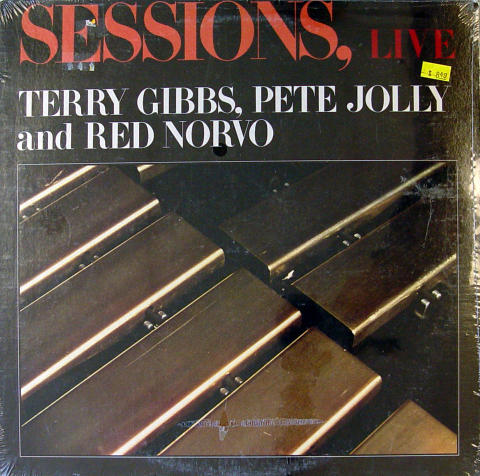 "Terry Gibbs, Pete Jolly And Red Norvo Vinyl 12"" (New)"