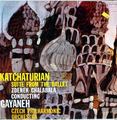 "Aram Khachaturian Vinyl 12"""