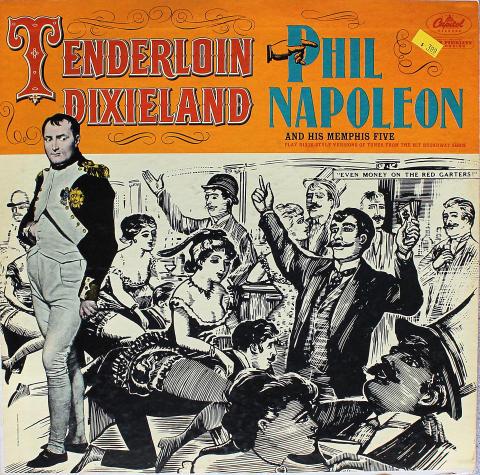 "Phil Napoleon And His Memphis Five Vinyl 12"""