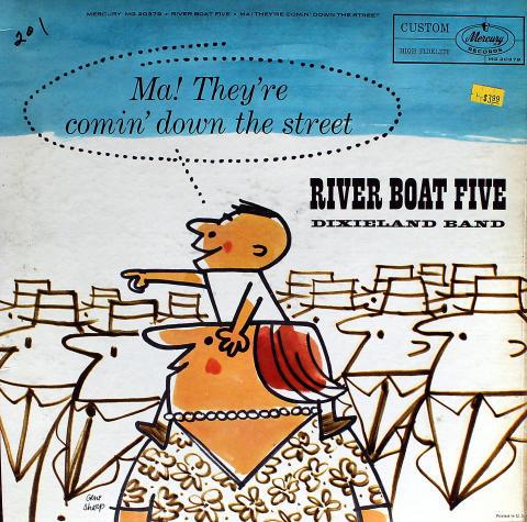 """River Boat Five Dixieland Band Vinyl 12"""""""