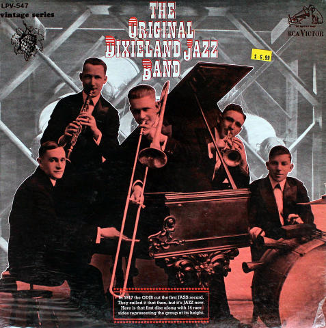 "The Original Dixieland Jazz Band Vinyl 12"""