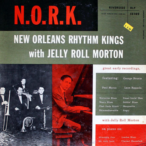 """New Orleans Rhythm Kings Vinyl 12"""""""