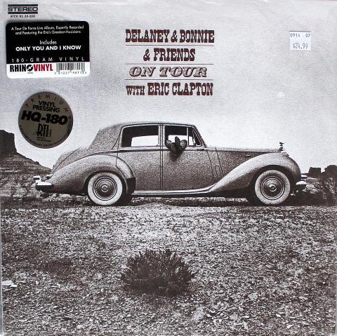 """Delaney & Bonnie & Friends With Eric Clapton Vinyl 12"""" (New)"""