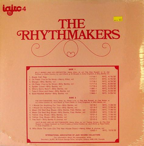 "The Rhythmakers Vinyl 12"""