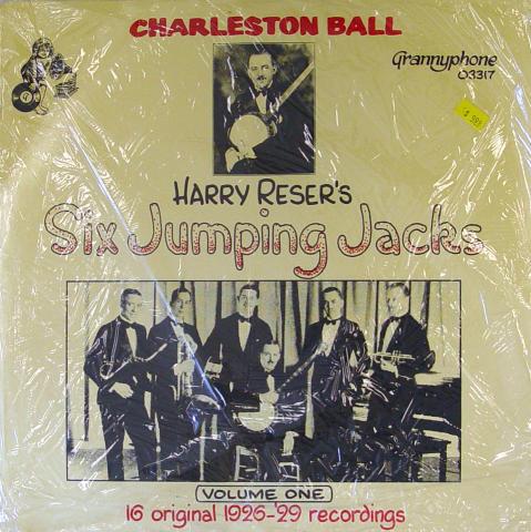 "Harry Reser's Six Jumping Jacks Vinyl 12"""