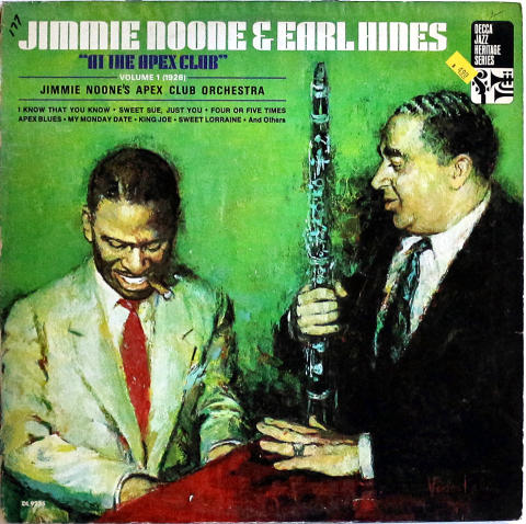 """Jimmie Noone & Earl Hines Vinyl 12"""""""