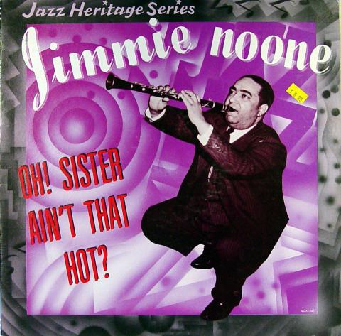 """Jimmie Noone Vinyl 12"""" (Used)"""