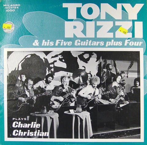 """Tony Rizzi & His Five Guitars Plus Four Vinyl 12"""""""