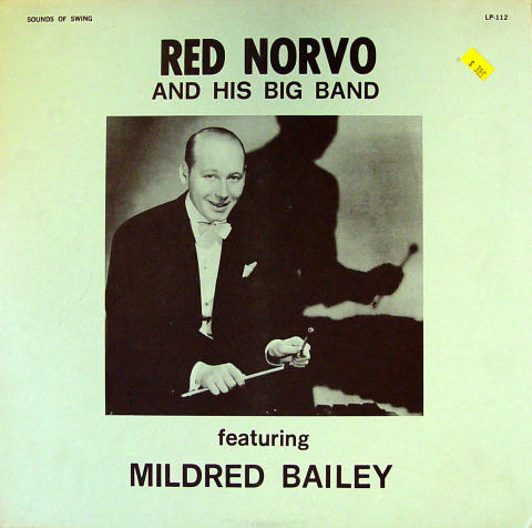 """Red Norvo And His Big Band Vinyl 12"""""""