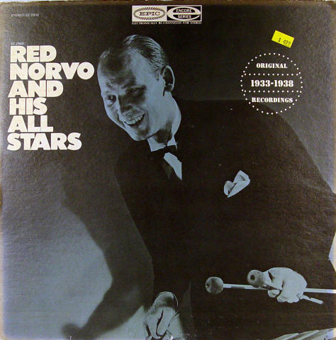 """Red Norvo And His All Stars Vinyl 12"""""""