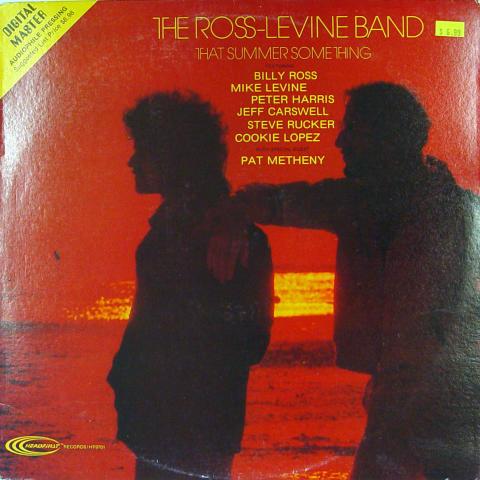 "The Ross-Levine Band Vinyl 12"""