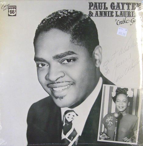 """Paul Gayten Vinyl 12"""""""