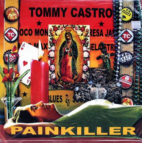 "Tommy Castro Vinyl 12"""