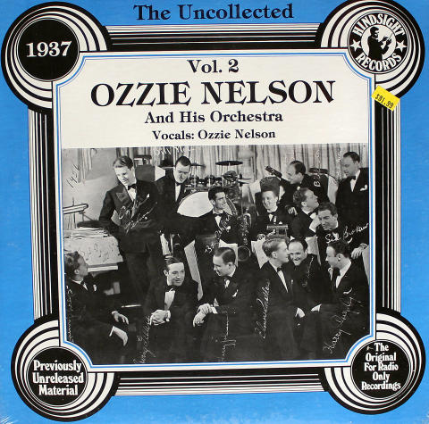 """Ozzie Nelson And His Orchestra Vinyl 12"""""""