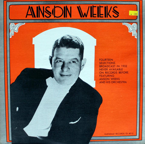 "Anson Weeks Vinyl 12"""