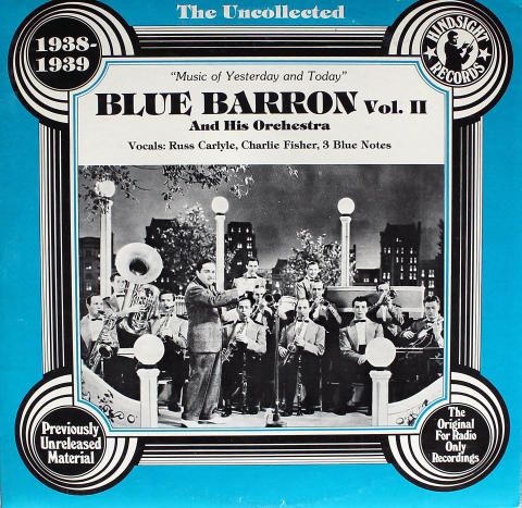 """Blue Barron And His Orchestra Vinyl 12"""""""