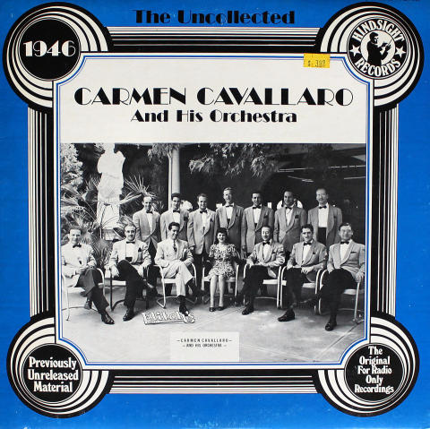 Carmen Cavallaro And His Orchestra Vinyl 12""