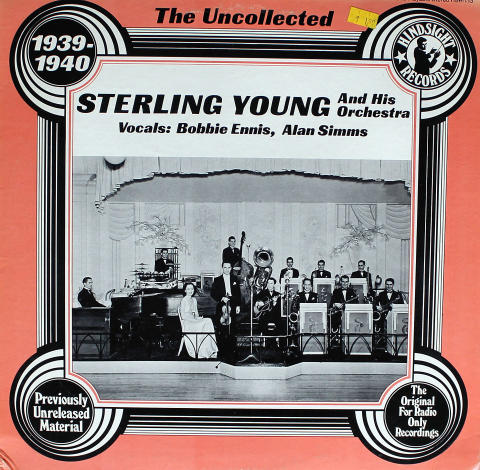 """Sterling Young And His Orchestra Vinyl 12"""""""