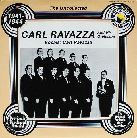 "Carl Ravazza And His Orchestra Vinyl 12"""