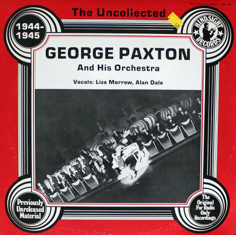 """George Paxton And His Orchestra Vinyl 12"""""""
