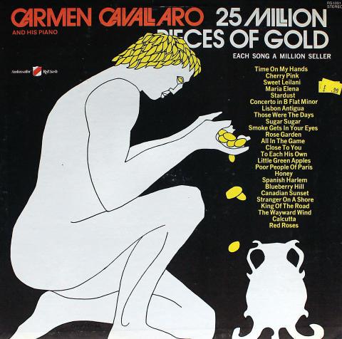 "Carmen Cavallaro Vinyl 12"""